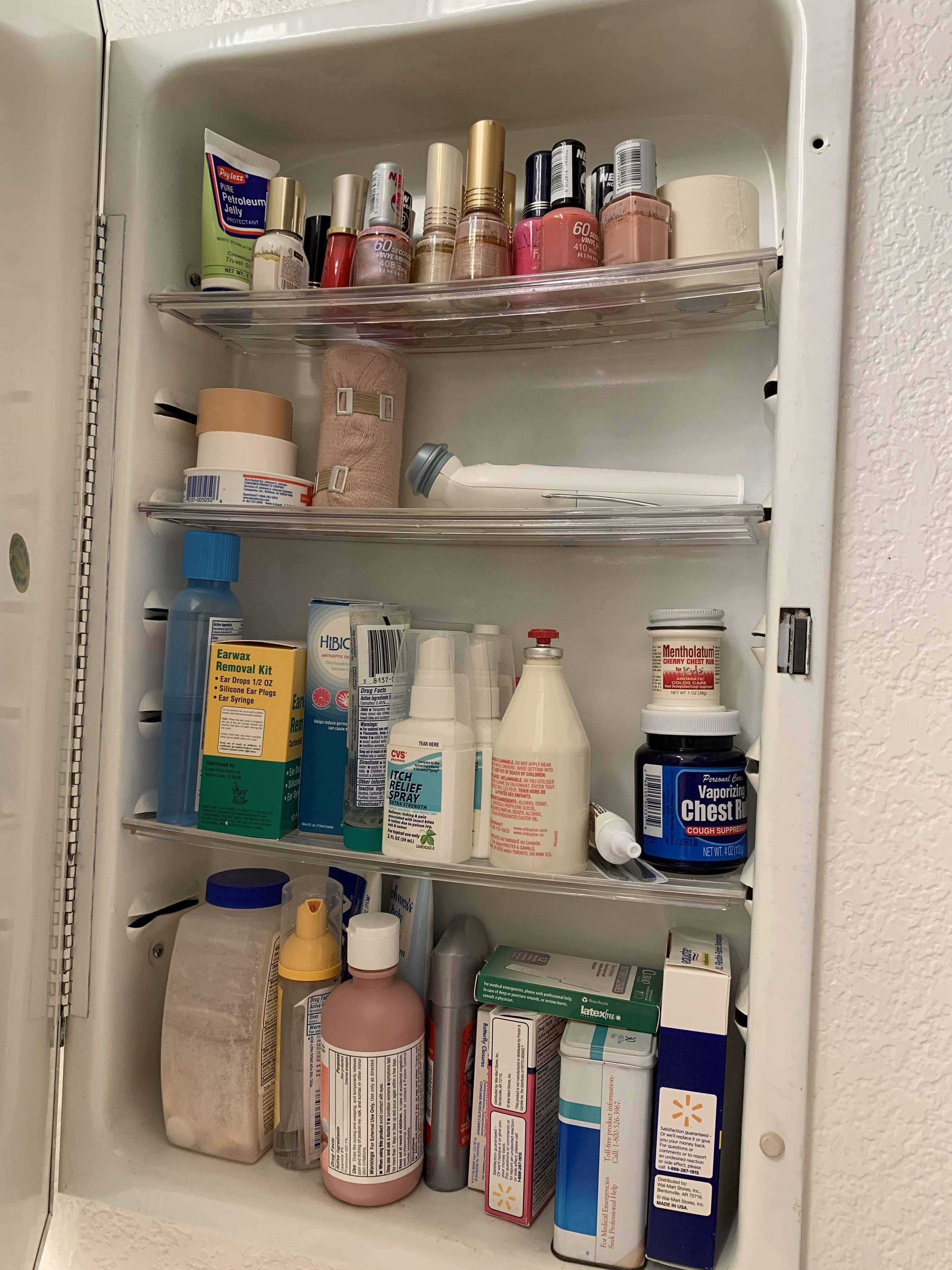 Medicine Cabinet - Before